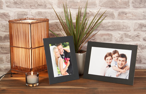 Photographic Prints in Black Mount