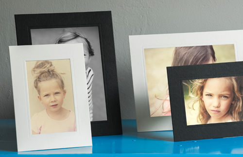 Black and White Mounted Professional Photos