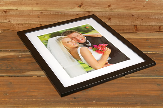 Our best value black framed print
