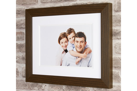 Light Oak Photo Frame with Print