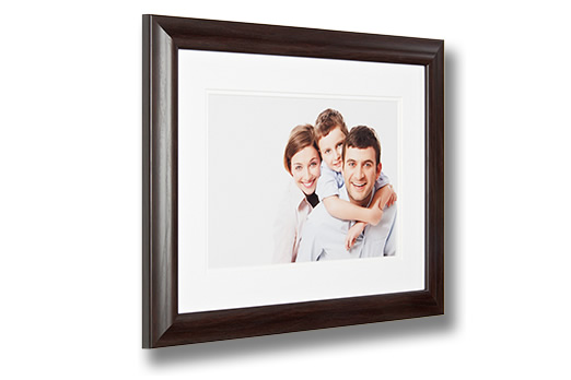 Mahogany Photo Frame with Print