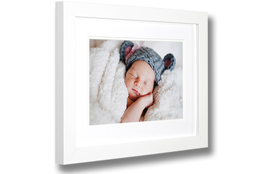 Matt White Photo Frame